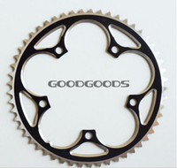 Wholesale 130BCD T T T T T T T Double speed tooth disc CNC aluminum crankset chainrings dental plate