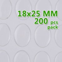 epoxy resin sticker - 18 mm Oval Transparent Epoxy Domes Resin Cabochon Sticker epoxy Cabochon epoxy adhesive thick about mm sold per PKG