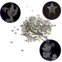 Wholesale SS3 pack Glass Flatback Crystal Non Hotfix Nail Art Rhinestones