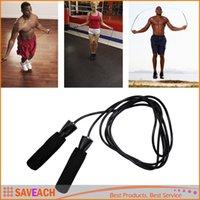 Wholesale Aerobic Exercise Boxing Skipping Jump Rope Adjustable Bearing Speed Fitness Black Blue Green Orange