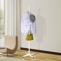 Wholesale Steel and ABS Plastic Bedroom Assemble Simple Clothes Rack Fashion Coat Hanger