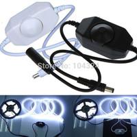 adjust brightness - New V LED Brightness Adjust Dimmer Controller for LED Light Strip Lamp Hot