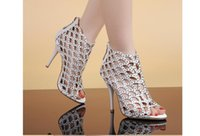 Wholesale Sexy Shoes For Ladies - Free Shipping Hot!Ladies Sexy beautiful wedding shoes hollow, Rhinestone stiletto fish mouth for a variety of performances