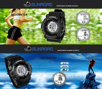 barometer altimeter compass - New Sunroad FR821A ATM Altimeter Compass Stopwatch Fishing Barometer Pedometer Outdoor Sports Watch Multifunction H11938
