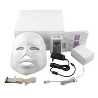 Wholesale Korean LED Photodynamic Facial Mask Home Use Beauty Instrument Anti acne Skin Rejuvenation LED Photodynamic Beauty Masks LED Light Color