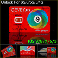 al por mayor x sim 4s-El más nuevo E-papel Gevey abre la tarjeta de Sim Perfecto desbloquee ios9 8 7.X para el iphone 6S más 6 5s 6plus 4s ATT T-móvil Sprint Rsim WCDMA CDMA 4G 3G