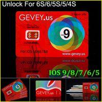 mobile cdma - Newest E paper Gevey Unlock Sim Card Perfect unlock ios9 X for iphone S plus s plus s AT T T mobile Sprint Rsim WCDMA CDMA G G