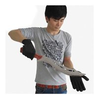 abrasion resistant metals - 2 Pairs Anti Stabbed Abrasion Stab Cut Proof Gloves Knife Resistant Metal Steel Mesh Safety Protective Security Glove