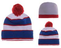 Wholesale 2016 Team Beanies basketball Beanies Cheap Football Pom Pom Beanies High Quality Sports Beanie Hats Brand Knitted Skull Caps Togue Hats