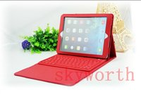 For Ipad2 ipad mini keyboard - Bluetooth Wireless Keyboard leather case for Ipad air mini retina Stand Holder Protector Colors