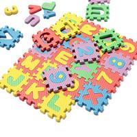 Wholesale New bag Puzzle Age Kid Educational Toy Alphabet A Z Letters Numeral Foam Mat For Children