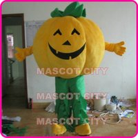 Wholesale Costume Halloween Mascotte - Halloween Pumpkin Man Mascot Costume Adult Size Custom Mascotte Costumes SW21