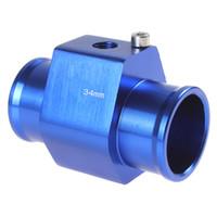 Wholesale Water Temperature Temp Sensor Guage Adapter mm Aluminium with Clamps CEC_518