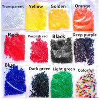 Wholesale Fedex DHL Water Pearl Beads colors your pick Crystal Soil Mud Magic Plant Jelly Water absorbing crystal polymer soil