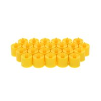 beeswax candles sale - Hot Sale cm LED Flameless Candle Set for Wedding Party Valentine Events Decoration Orange Light