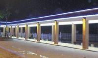 Wholesale 48pcs high power RGB led wall washer DMX512 control DC24V W IP67 SMD5050 Taiwan Epistar off