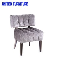 Wholesale Fast shipping high end soft lobby chair casual dining chair minimalist fashion chair factory
