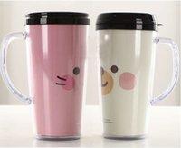 promotonal - double wall travel mug with insert paper advertising mug promotional gifts promotonal mug double wall plastic cup