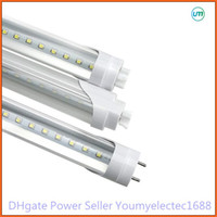 Wholesale 50X ft mm T8 Led Tube Light High Super Bright W W W Warm Cold White Led Fluorescent Bulbs AC110 V CE ROHS
