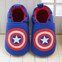america cow - Baby Boys Shoes Athletic Sports Shoes Captain America Avengers Hulk Frozen Children Cartoon Kids Winter Autumn ZZ