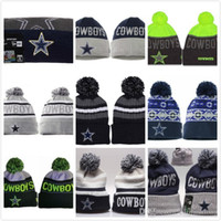 Wholesale hot Newest Cowboys knitted hats for men and women all team Cowboys beanies thermal performance Thickened