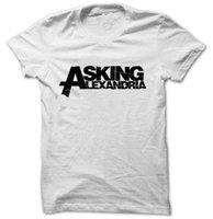 ask yellow - T1493 ASKING ALEXANDRIA LOGO T SHIRT TEE TSHIRT Womens unisex Fashion t shirt