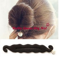 Wholesale Fashion Sponge Dish Hair With Pearl Women Hair Decorations Sponge Dish Hair With Pearl Hair Jewelry Accessories