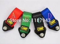 Wholesale OMP Racing tow rope modified Racing Athletics essential decoration with screw five color racing omp towing bars