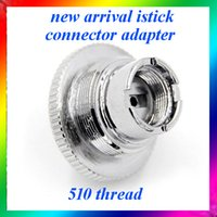Wholesale istick adaptor ego adaptor istick assy to ego thread connector adapter fit e leaf istick w battery mini istick w epacket