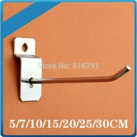 Wholesale Supermarket Slat Wall Mounted Display Hooks cm Length mm Diameter