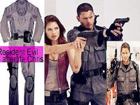 Adult afterlife resident - 2015 Hot Sale Adult Full Christmas Costumes Halloween for Fantasias Femininas Resident Evil Afterlife Chris Cosplay Costume New