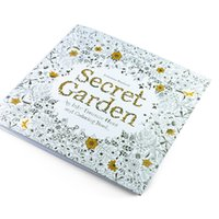 Wholesale Coloring Books Lost Ocean Secret Garden An Inky Treasure Hunt For Children Adult Relieve Stress Kill Time Graffiti Painting Drawing Book