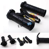 Wholesale High quality Universal Motorcycle ATV mm quot V Heated Molded Grips Handlebar warmer comfortable Kit