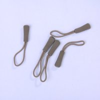 backpacking clothing - 20 EDC Gear zipper puller clothing accessories for anti skid rope mute bag zipper cord
