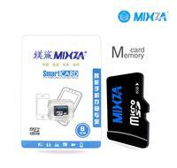 Cheap 10pcs lot Mixza memory card 4GB 8GB 16GB 32GB 64GB 128GB micro sd card class 10 flash card micro sd 100% real capacity