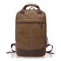Wholesale Brand High Quality Canvas Backpacks School Bag Travel Bags Colors