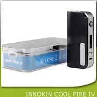 Cheap 100% Innokin CoolFire IV 40W Battery Mod Authentic Innokin Cool Fire IV Express Kit 2000mah Innokin Coolfire 4 Box Mod