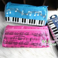 Wholesale Music pencil case music bag note pencil piano music gift cosmetic bag piano bags