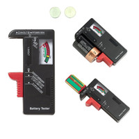 Wholesale New Battery Testers Universal Digital LCD Battery Checker Volt Tester Cell AA AAA C D V V