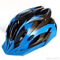 Wholesale New Athletic sports protective Mountain Bike Helmet of Unibody Design men women bike helmet black green red BMX helmets cycling helmets