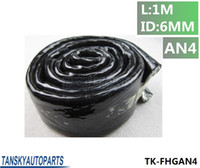 Wholesale TANSKY High Temperature Heat AN4 Vulcan Fire Sleeve Fire Braid Flame Shield Black X1M ID mm TK FHGAN4