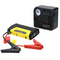 battery powered air compressor - 16800mAh Universal Portable Car Jump Starter Air Compressor Toolbox Car Battery Charger Power Supply US AU EU UK Model