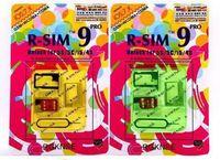 Wholesale Original R SIM RSIM9 R SIM9 Pro Perfect SIM Card Unlock Official IOS ios7 RSIM for iphone S S C GSM CDMA WCDMA