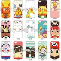 Wholesale Cute Cartoon CellPhone Cover For Apple Iphone6 Iphone5 Iphone5s Iphone4 Iphone4s Case