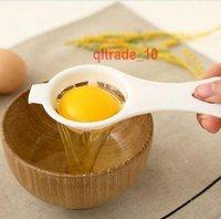 Wholesale 2000 BBA4928 Kitchen Egg Separator Holder Egg Yolk Separator Eggs separator separa albumi tuorli uovo Egg Separator Yolk white kitchen tool