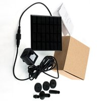 Wholesale 1set Hight Quality Garden Plants Sun plants watering outdoor Solar Power Fountain Pool Water Pump