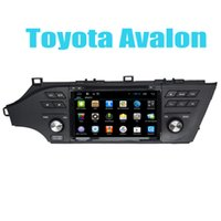 avalon wheels - Quad Core Car Media Navigation Player In Car Dvd Gps Radio for Toyota Avalon Android G Steering Wheel Control Support