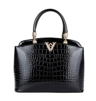 crochet bag - Handbags Brand PU Leather Women Handbags V letter Messenger bags New Fashion Luxury Top Handle Bag Designer Lady One Shoulder Bags BH695