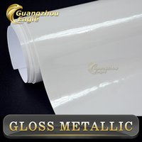 aluminum window sizes - New Products White Glossy Metallic Wrap X20m Size Pearl White Glossy Pearl Glossy Vinyl Car Wrap Films Ultra car wrap
