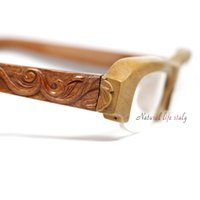 bamboo reading glasses - wood bamboo sunglasses frame glasses for men wowen brand designer newest fashionable luxury vintage read driving natural eyewear